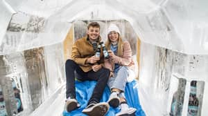 ​You Can Now Visit An Igloo Made From Actual Booze And OMG