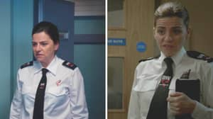 Line Of Duty Prison Guard Who Broke Farida's Wrist Is The Same Person Who Burned Lindsay's Hands