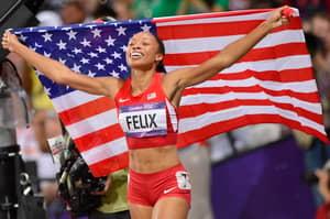 Olympic Sprinter Allyson Felix Just Broke One Of Usain Bolt's World Records