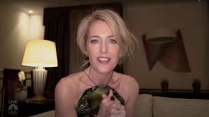 Golden Globes 2021: Viewers Baffled By Gillian Anderson's Accent During Acceptance Speech