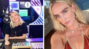 Toe-Curling Moment Perrie Edwards Is Asked Why The Saturdays Were Snubbed From BRITs Speech