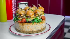 You Can Now Buy A Cheesecake Topped With Cheeseburgers