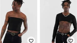 ASOS Is Selling 'Moob Tubes' For Men And People Aren't Feeling Them