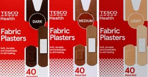Tesco Is The First Supermarket To Launch Diverse Skin Tone Plasters
