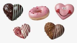Krispy Kreme Is Rolling Out A Valentine's Day Range