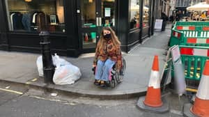 Disabled Woman Urges Pub Goers To Be More Considerate Of Wheelchair Users While Drinking On The Pavements
