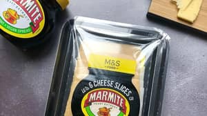 M&S Is Selling Marmite Flavoured Cheese