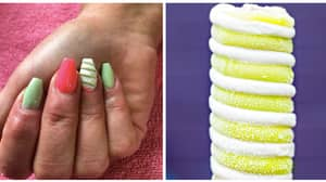 People Are Getting Twister Nails Ready For Summer
