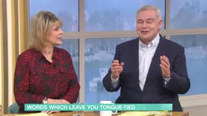 Eamonn Holmes Can't Pronounce The Word 'Thoroughbred'