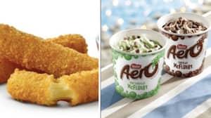 McDonald's Mozzarella Dippers And Aero McFlurries Are Returning To Menu This Week