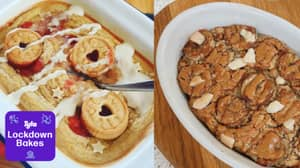 Lockdown Bakes: Everyone's Making Baked Oats Tray Bakes And They Look Incredible