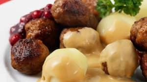 IKEA Developing Vegan Meatballs That 'Look And Taste Like Meat'