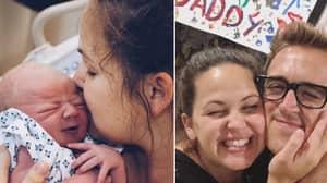 Giovanna Fletcher Announces Birth Of Third Child