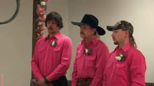 Joe Exotic's Three-Way 'Tiger King' Wedding Is Now Available To Stream In Full Online