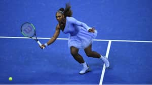 Serena Williams 'Twirls' Into The Next Round Of US Open In Lilac Tutu