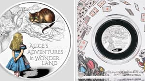 Royal Mint Releases An Alice In Wonderland Coin