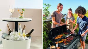 Lidl Is Selling A Garden Table With A Built-In Ice Bucket - And It's A Bargain