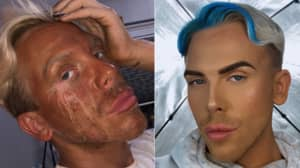 Make-Up Artist In Hilarious Fake Tan Fail After Crying Through Movie After Applying It