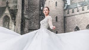 Disney's Wedding Dresses Are Now Available To Buy In The UK