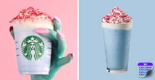 Starbucks Launches Limited-Edition Bubbletastic Frappuccino