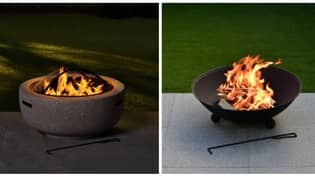 B&M Shoppers Go Crazy Fire Pit Range Which Starts At £25