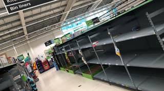 Supermarket Bosses Urge People To Stop Panic Buying Again