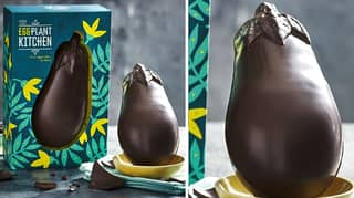 M&S Launches New Cheeky Aubergine-Shaped Easter Egg