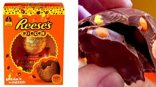 You Can Now Get An Easter Egg With Reese's Pieces Embedded In The Shell