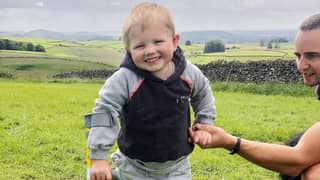 Beautiful Moment Four-Year-Old Boy Walks For First Time Again After Losing Both Legs To Sepsis