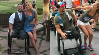 Amputee Finds Love With Woman He Was Meant Date The Day He Lost His Legs