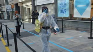 Woman Spotted In Full PPE Bodysuit For Primark Visit