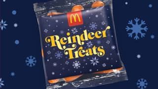 McDonald's Is Offering Free Carrots Today For Santa's Reindeer