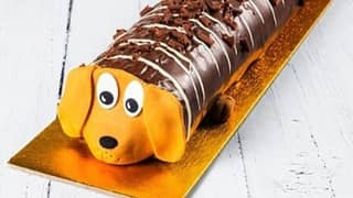 Asda Launches New Sid The Sausage Dog Cake