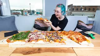 A Restaurant Is Serving An 8,000 Calorie Metre-Long Pizza