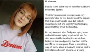 Woman Writes Powerful Job Rejection Letter After Brutal Interview