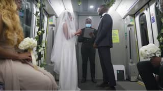 'Couple' Stage Wedding On Train To Highlight Coronavirus Restrictions