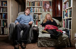 """Gogglebox Star Mary Killen Reveals Why She and Husband Giles Call Each Other """"Nutty"""""""
