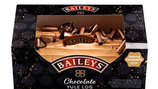 Baileys' Festive Yule Log Is Back In Time For Christmas