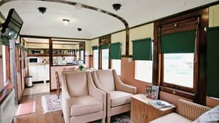 You Can Now Stay In An Abandoned Train Carriage And It's A Millennial Pink Dream