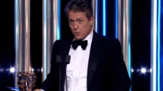 Hugh Grant Sends Fans Wild With Bridget Jones Joke To Renee Zellweger At BAFTAs