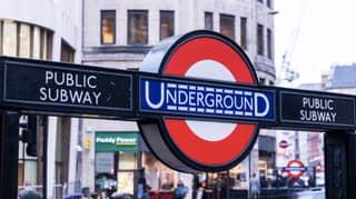 London Tube Still Packed As Second Week Of Lockdown Begins