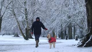 Met Office Issues Weather Warning As Snow Is Set To Hit Britain This Week