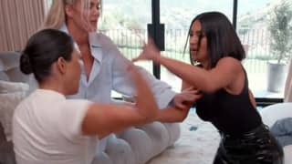 People Are Calling Kourtney And Kim's Brawl The 'Fight Of The Century'