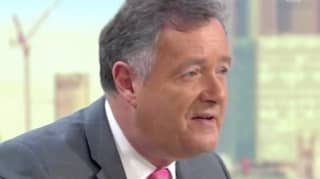 Piers Morgan Suffers Hilarious Makeup Fail On GMB As He 'Over-Tangerines' Himself