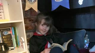 Woman Creates 'Cupboard Under The Stairs' For Her 'Harry Potter' Obsessed Daughter