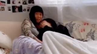 Man Accidentally Flashes His Girlfriend's Mum During TikTok Challenge