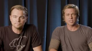 Leonardo DiCaprio And Brad Pitt Share The Screen For The First Time