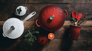 Le Creuset Launches Christmas Holly Collection And You're Going To Want It All