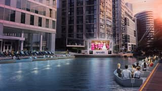You Can Now Watch 'Grease' At This Incredible Floating Cinema