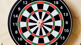 You Can Now Get Personalised Dart Boards With Your Ex's Face As The Bullseye